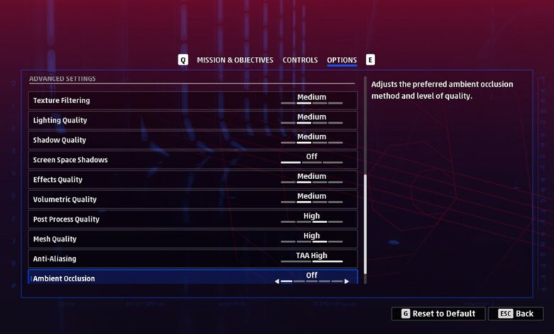 star wars squadrons graphics settings