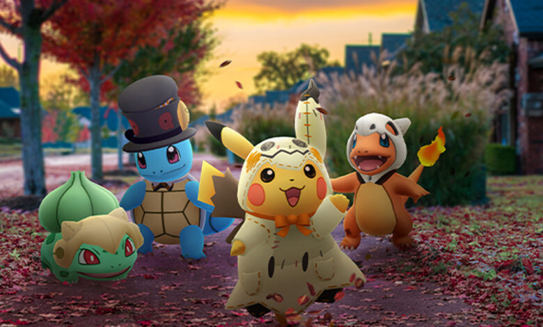 Una nueva filtración sobre Pokémon GO podría revelar el jefe secreto de Halloween