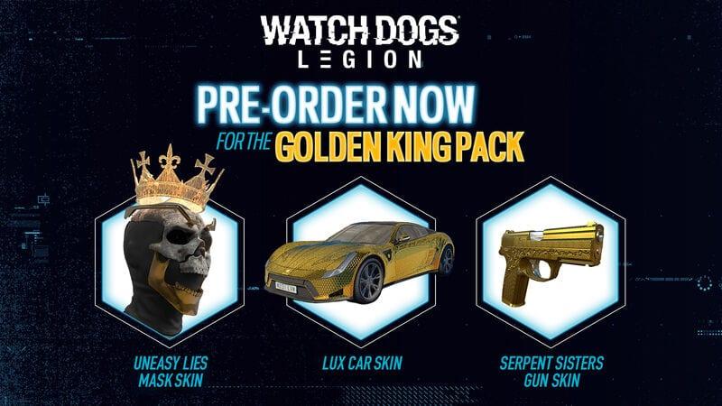 dlc golden king legion perros guardianes