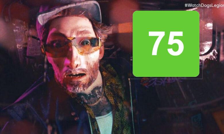 Watch Dogs Legion obtiene 75/100 en Metacritic, a pesar de las fuertes críticas