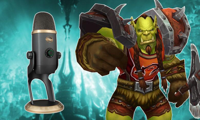 WoW: ¿Raiden como orco? Con este micrófono incluso tienes la voz adecuada