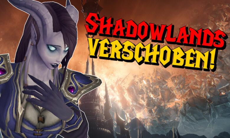 WoW Shadowlands: el lanzamiento se ha pospuesto, el complemento vendrá más tarde
