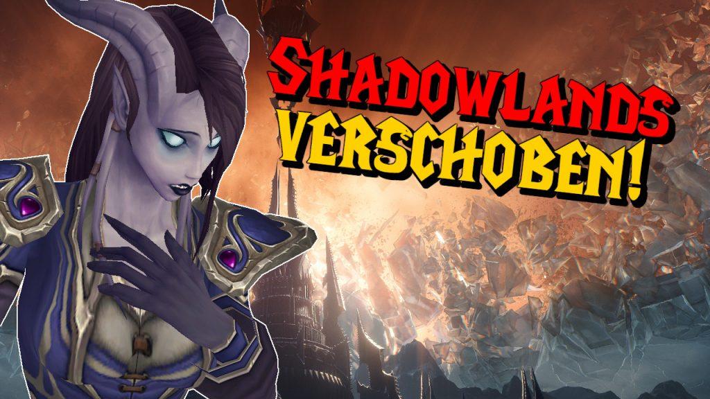 WoW Shadowlands Release movió el título a 1280x720