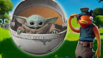 ¿Fortnite realmente mostró a Baby Yoda para el pase de batalla de la temporada 5?