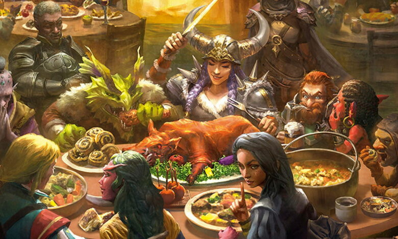 ¿Por qué puedes comer en MMORPG para curarte a ti mismo?