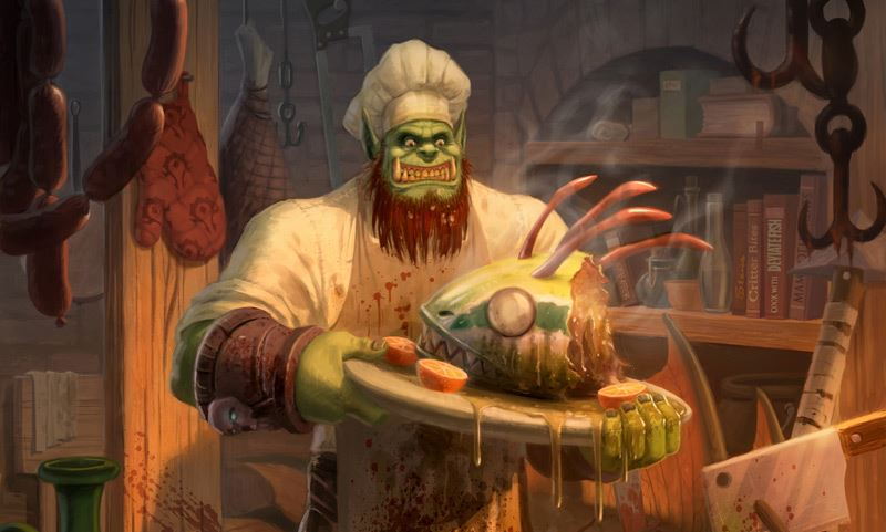 Receta de comida mejorada de Warlords of Dreanor