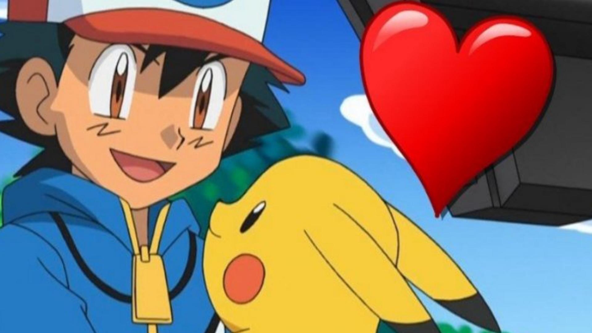 Imagen de portada Pikachu Ash Heart Pokemon GO