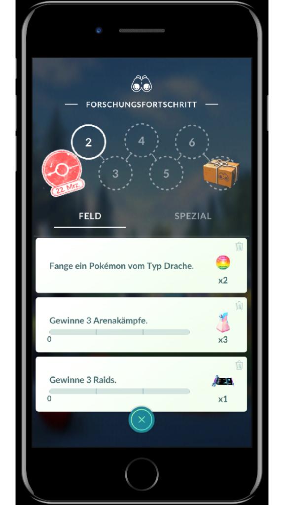 Pokémon GO Misiones 2
