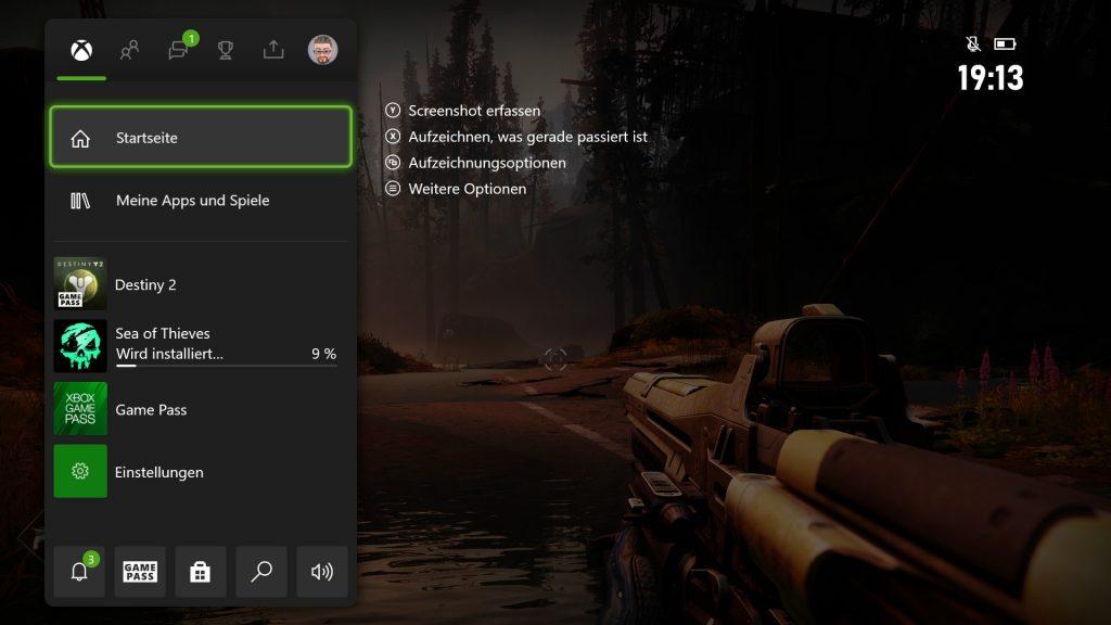 Superposición de Xbox Series X sobre Destiny 2