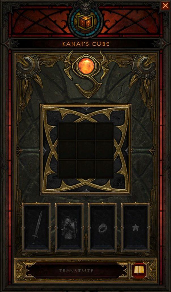 Diablo 3 dados de Kanai 4 espacios