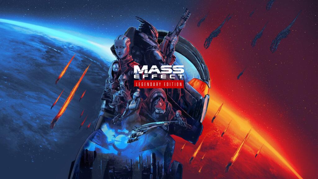 Arte clave de Mass Effect LE