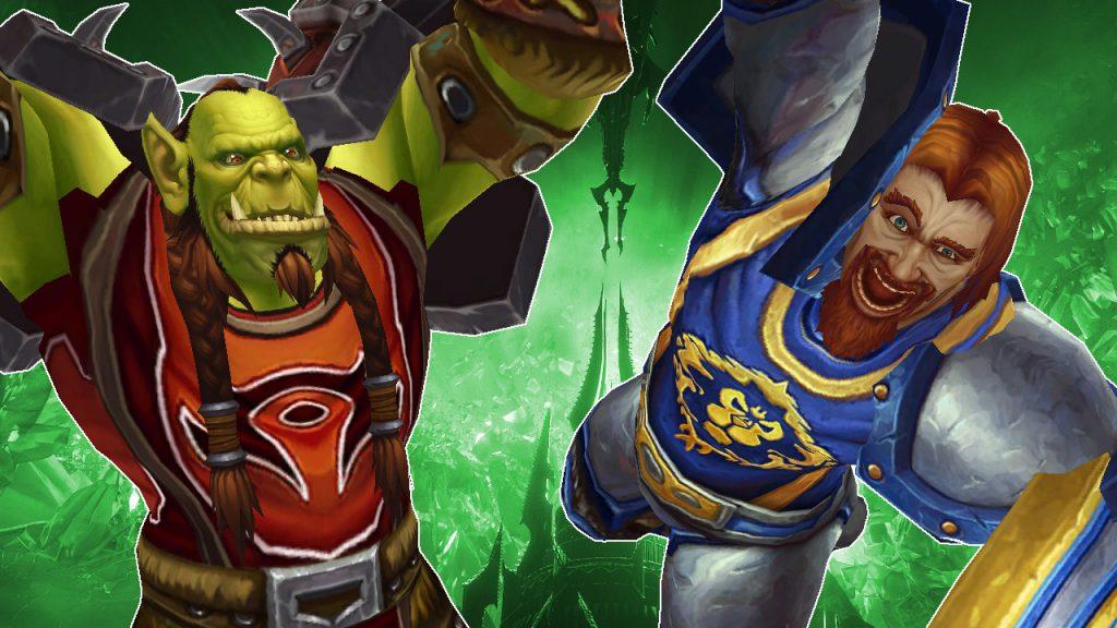 WoW Orc Human cheer título título 1280x720