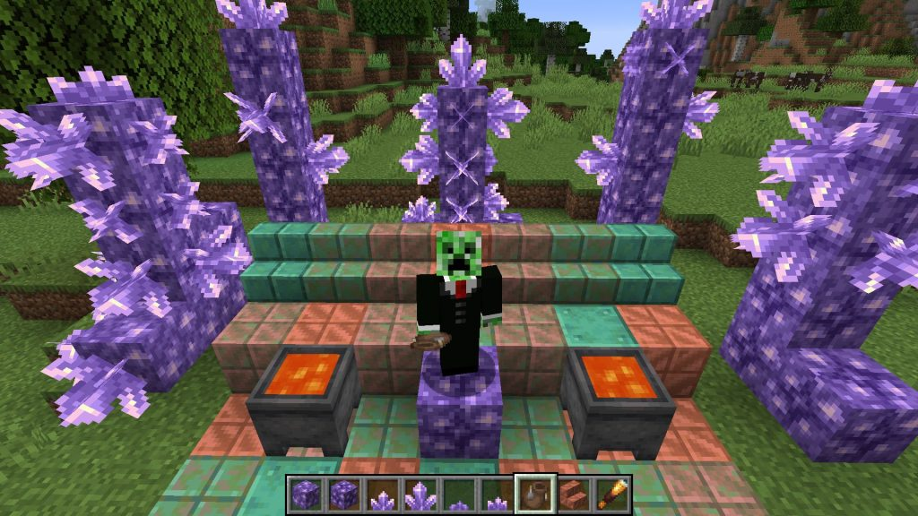 Minecraft Amethyst título 1280x720