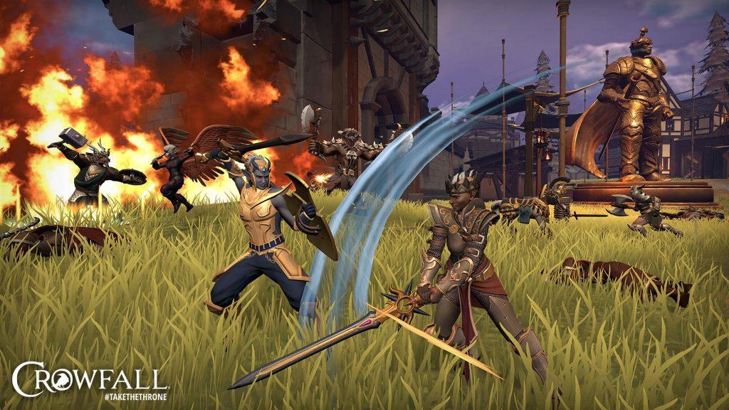Captura de pantalla 2 de Crowfall Revival