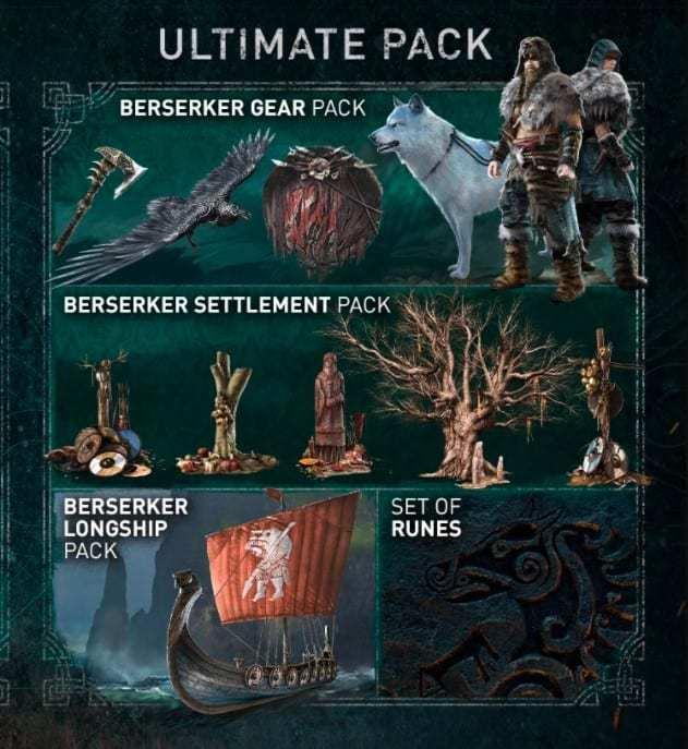 Paquete definitivo de Assassin & # 39; s Creed Valhalla