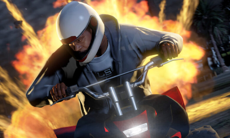 GTA Online: los jugadores hacen un truco loco, luego el conductor lo hace mejor