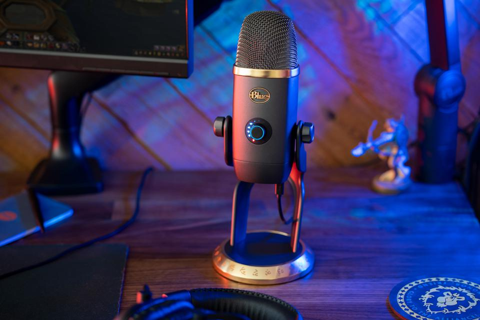 "Blue Yeti X en la edición ""World of Warcraft"""