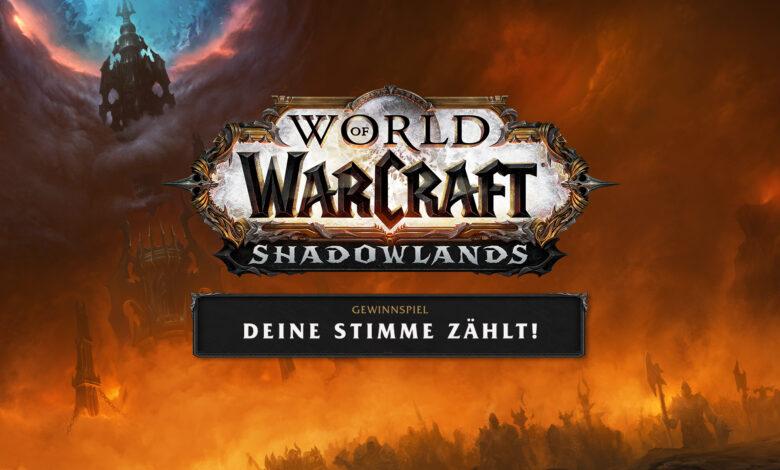 WoW Shadowlands: ¡Tu voto cuenta! Elija un pacto y gane una PC para juegos