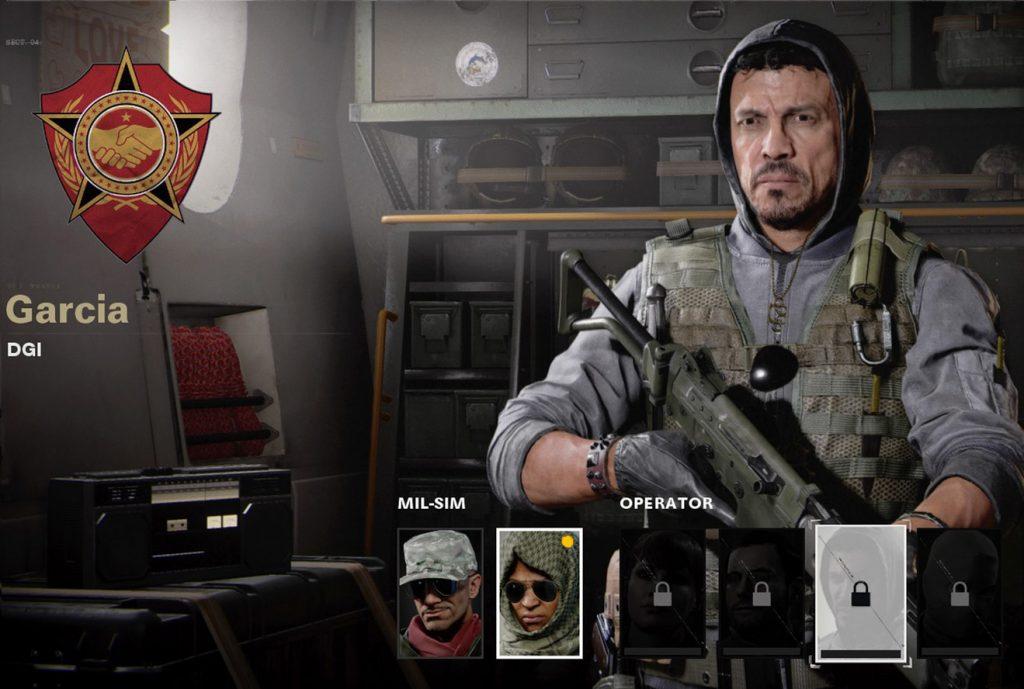 García, operador de la Guerra Fría de CoD