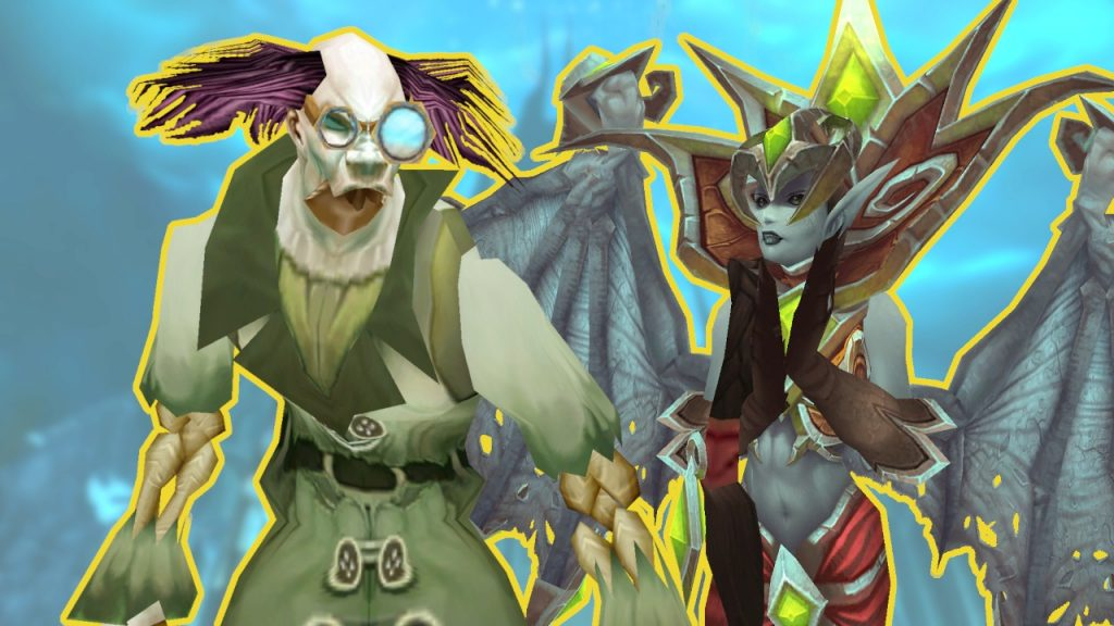 WoW Shadowlands Pre Event Putricide y Lanathel Title Bosses Rare Mobs