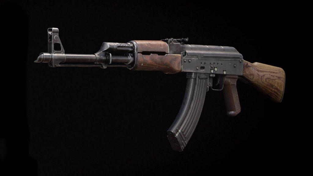 bacalao frío era un arma ak-47 sin accesorios