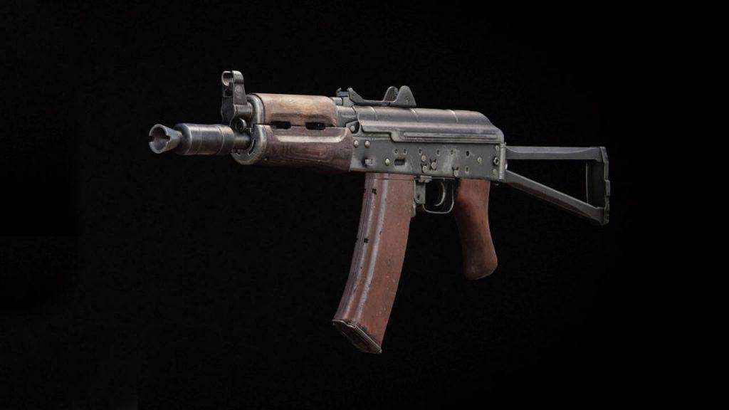 bacalao frío era un arma ak-74u sin accesorios