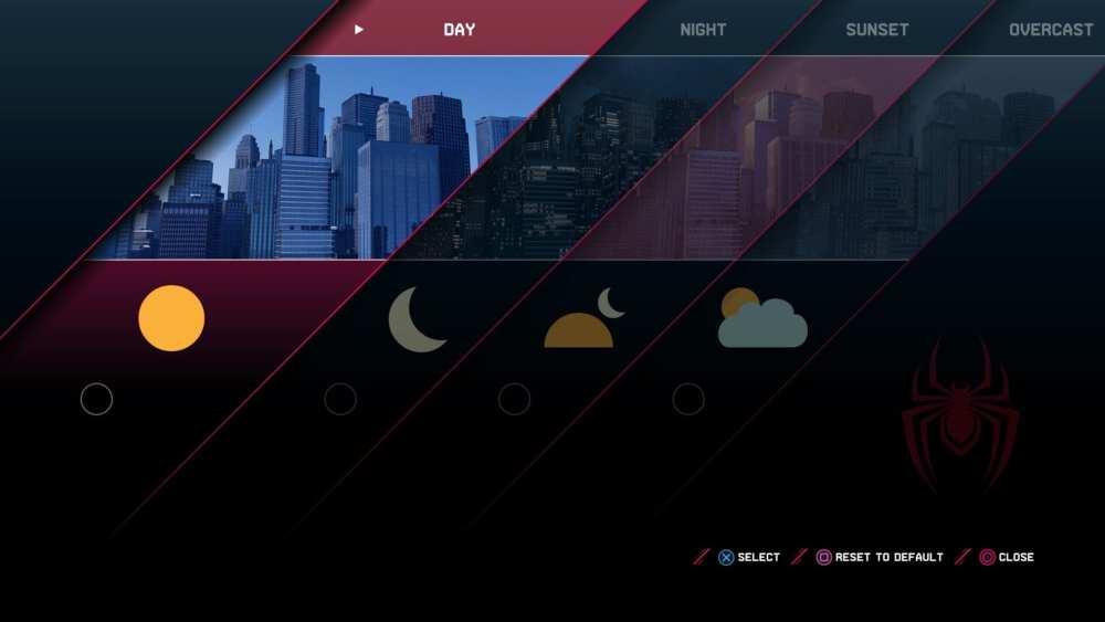 Cómo cambiar la hora del día en Miles Morales PS4 PS5