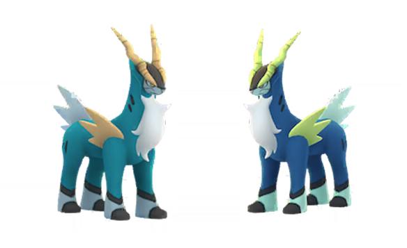 Pokémon GO Cobalio Normal Brillante