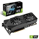 Tarjeta gráfica ASUS Dual GeForce RTX 2060 SUPER EVO V2 OC Edition Gaming (8GB GDDR6, PCIe 3.0, trazado de rayos, tecnología 0dB, Direct CU II)