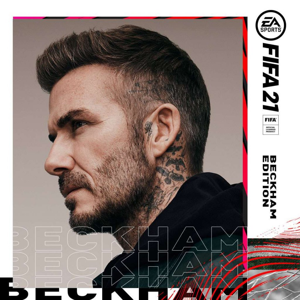 Portada FIFA 21 Beckham