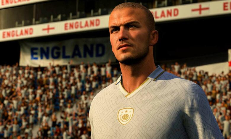 FIFA 21: Beckham llega a FUT como un icono y un regalo especial