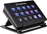Controlador de creación de contenido en vivo Elgato Stream Deck (con botones LCD personalizables, soporte ajustable, para Windows 10 y macOS 10.13)