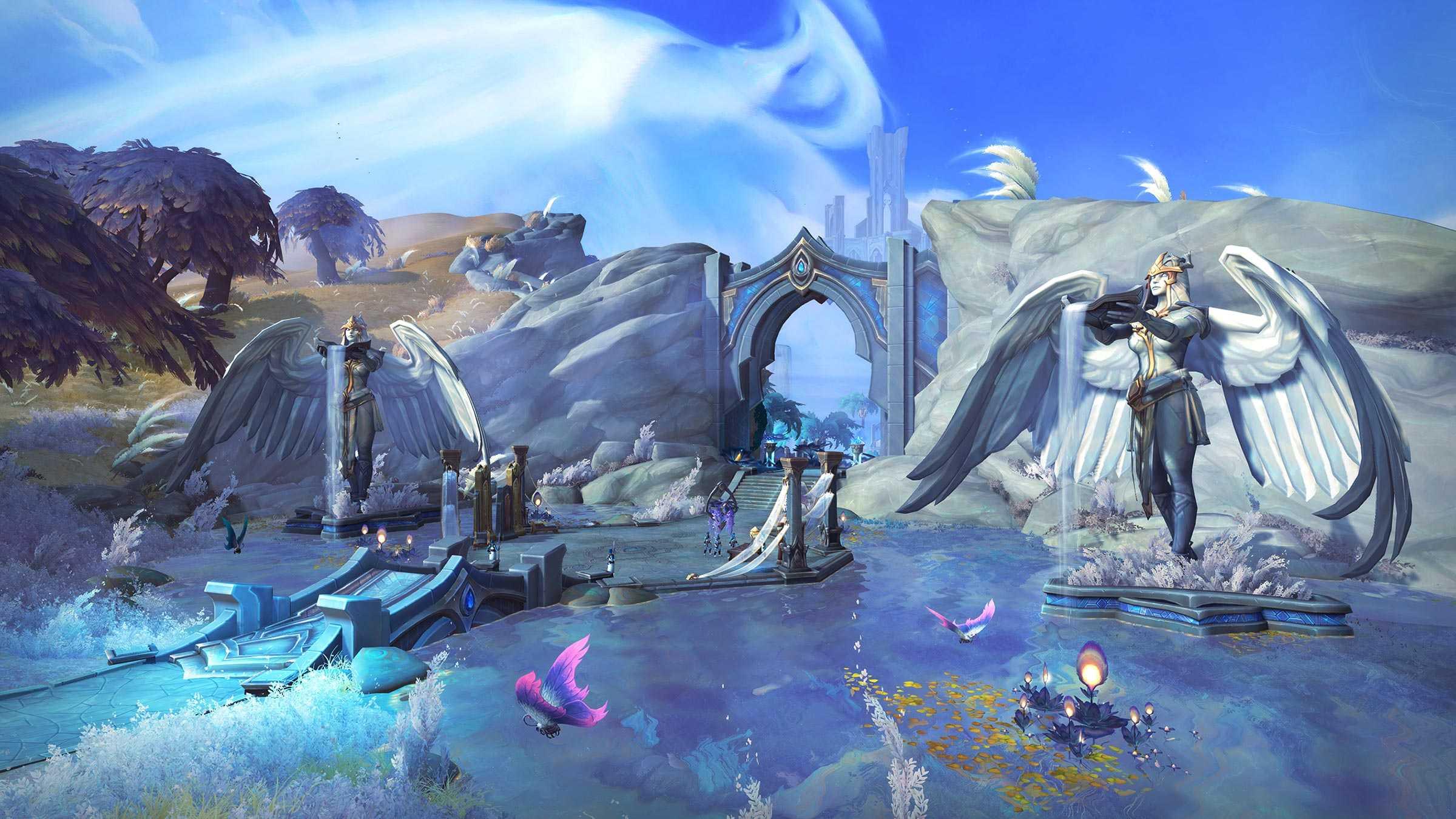 Bastión Kyrian de las Tierras Sombrías de WoW