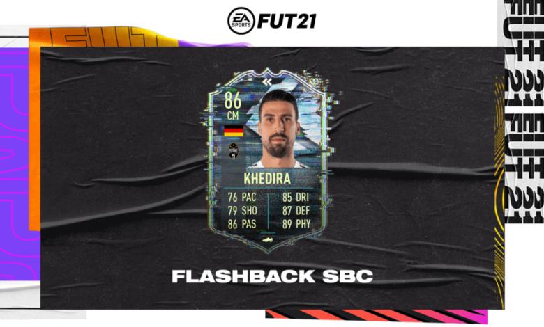 FIFA 21: SBC Sami Khedira Flashback Era - Requisitos y soluciones