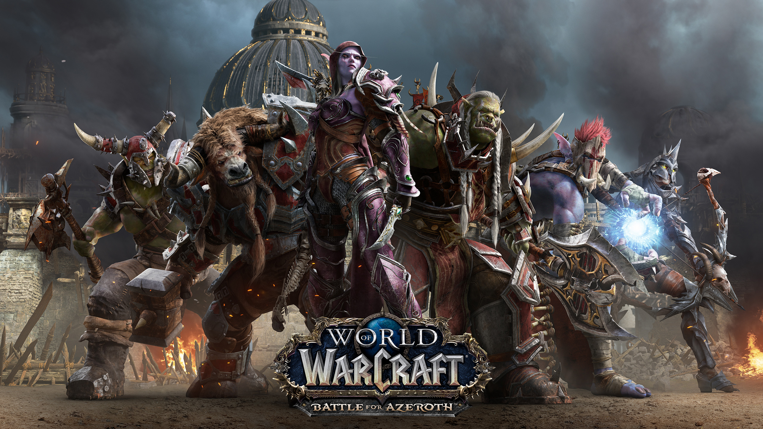 WoW Wallpaper Horde Heroes Battle for Azeroth