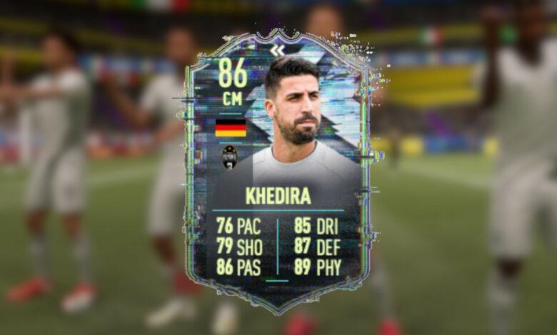 FIFA 21: la nueva tarjeta de Khedira es cara, pero la actualización masiva vale la pena