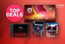 Amazon Black Friday week: SSD, juegos y TV OLED 4K en oferta