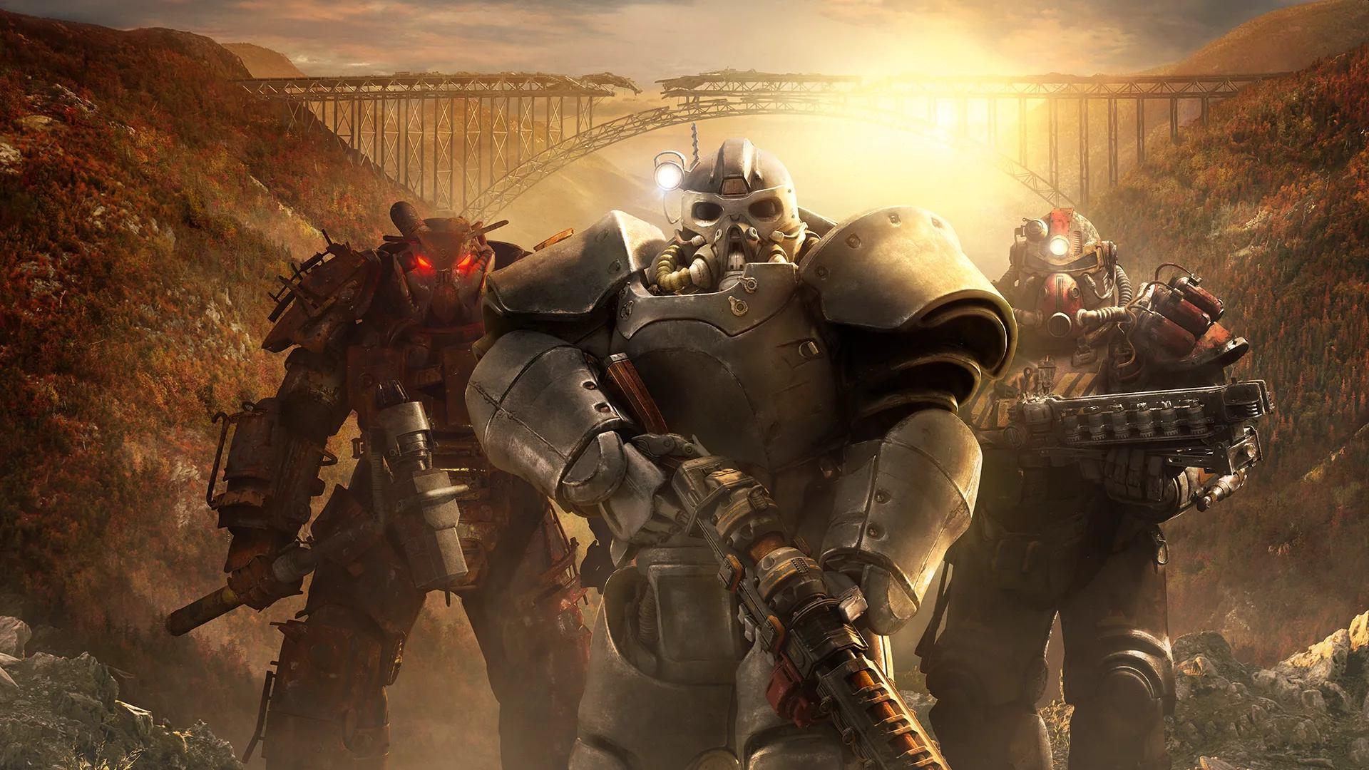 Servoarmadura de Fallout 76 Wastelanders
