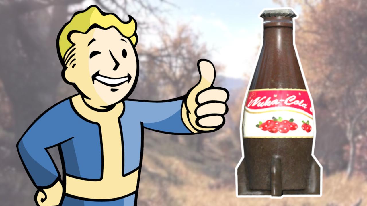 Fallout 76 Nuka Cola Arándano