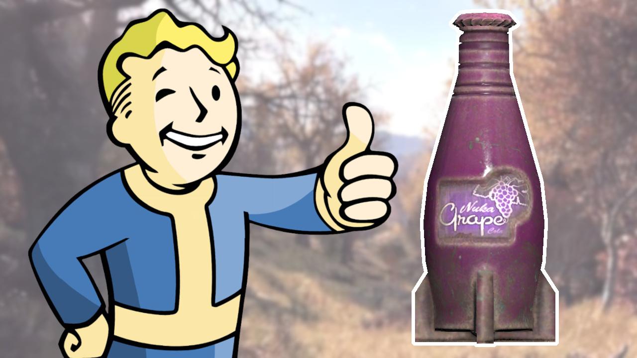 Fallout 76 Nuka Cola Uva