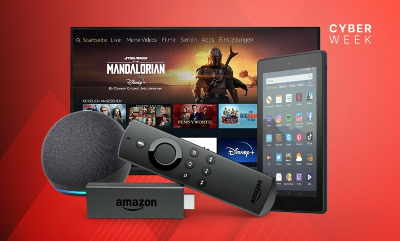 Fire TV Sticks, Echo 4 y otros dispositivos de Amazon están actualmente muy reducidos