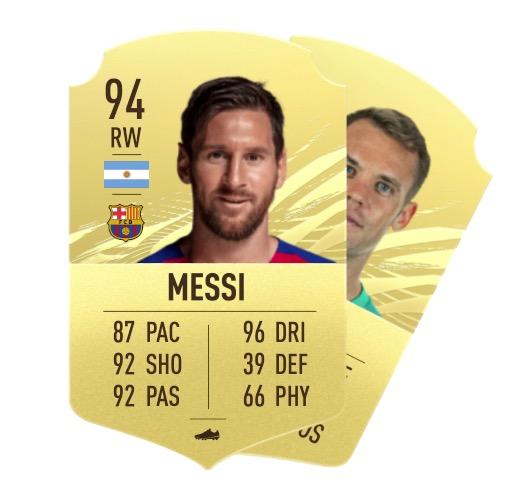 """Nuevo """"class ="""" wp-image-620757 """"width ="""" 434 """"height ="""" 412 """"srcset ="""" https://images.mein-mmo.de/medien/2020/11/FIFA-21-Messi-Neuer. jpg 511w, https://images.mein-mmo.de/medien/2020/11/FIFA-21-Messi-Neuer-300x285.jpg 300w, https://images.mein-mmo.de/medien/2020/ 11 / FIFA-21-Messi-Neuer-150x142.jpg 150w """"tamaños ="""" (ancho máximo: 434px) 100vw, 434px """"> Tal vez tu recompensa sea un Messi. O tal vez sea Manuel Neuer.      <p>El número puede ser un poco exagerado, pero el problema es: con demasiada frecuencia, son los porteros los que sacas de tus paquetes y luego tomas el lugar de los jugadores altamente calificados. No aportan mucho al mercado de fichajes y solo necesitas un portero. </p> <p>    <img data-lazy-type="""