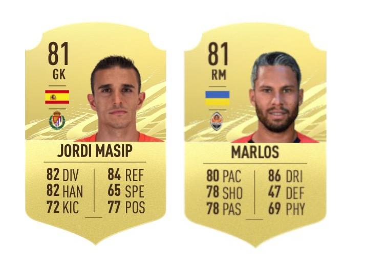 Promedio de FIFA 21