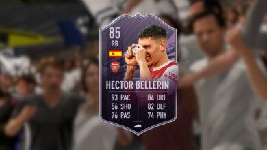 FIFA 21: puedes obtener la carta fuerte de Bellerin sin monedas, tienes que hacerlo para ello