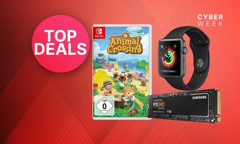 Ofertas de OTTO Black Friday: SSD de 1 TB y Animal Crossing muy reducidos
