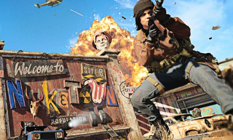 CoD Cold War trae el mapa de culto Nuketown hoy, donó el doble de XP para celebrar