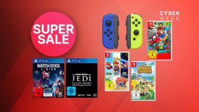 OTTO Black Friday: las mejores ofertas para Nintendo Switch y PS4