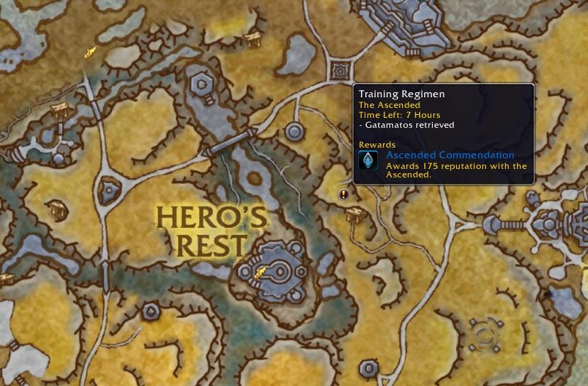 Mapa de WoW World Quest Phalynx