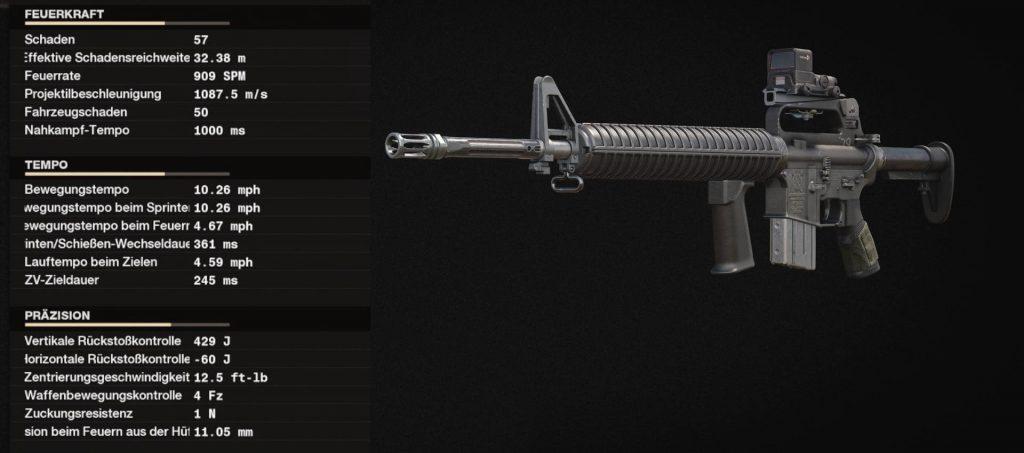 cod cold fue la mejor arma con la configuración m16