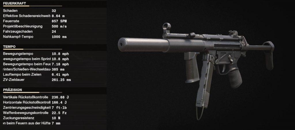 cod cold fue la mejor arma con setup mp5